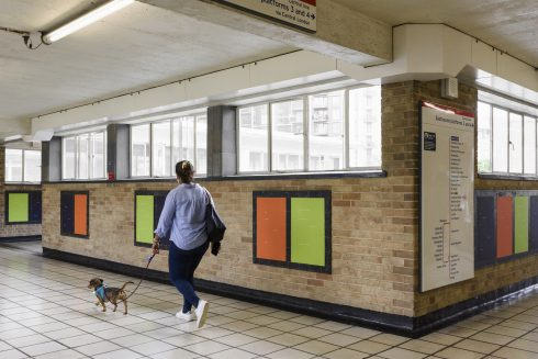 Helen Cammock, 2021. Commissioned by Art on the Underground. Courtesy Kate MacGarry and the Artist.Photo: Thierry Bal, 2021